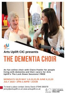 New online dementia choir!